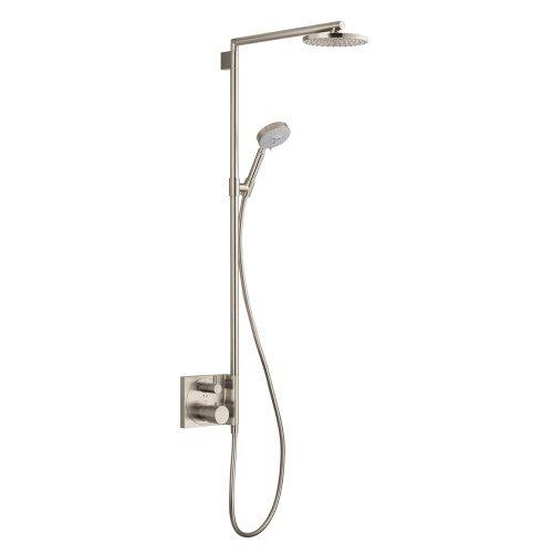 Raindance Showerpipe - Hansgrohe 27192821 Raindance S Showerpipe Trim, Brushed Nickel