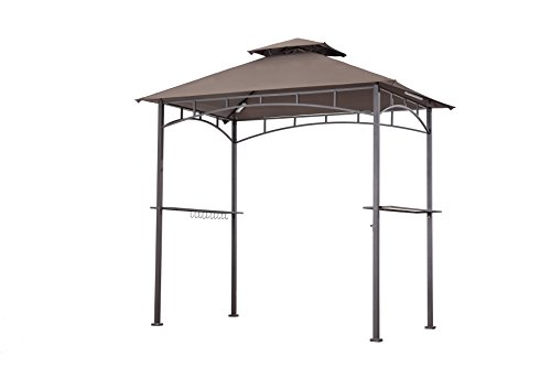 Sunjoy Replacement Canopy Set for Grill Gazebo LED Lamps