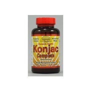 Dynamic Health complet Konjac - 90 capsules végétariennes (Multi-Pack)