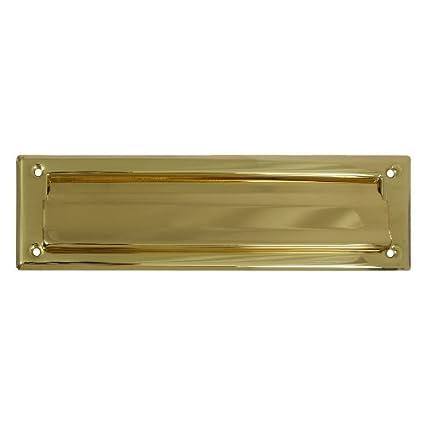 Brainerd Solid Brass Mail Slot