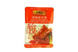 Sweet Sour Spare Ribs - lee kum kee sweet & sour pork or spare ribs sauce - 2.8oz