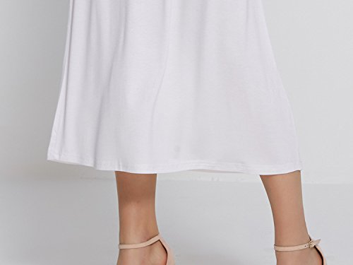 Fashion Sexy Above Mini Dress Dress Evening Spaghetti Knee Carmonoudi White Strap Summer Bodycon Sleeveless Party Xwx0WnzRqv