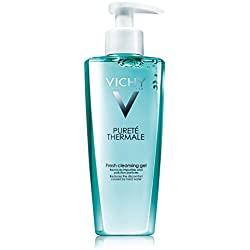 Vichy Pureté Thermale Fresh Cleansing Gel Cleanser, Paraben-free, Alcohol-free, 6.76 Fl. Oz.
