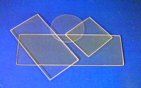 Fused Quartz Microscope Slides, 75 x 25 mm (Slide Quartz)