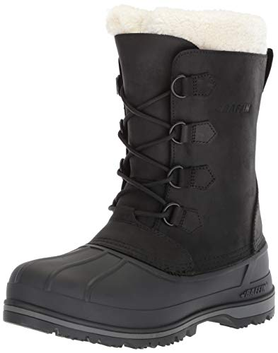 Baffin Womens Women's Canada Snow Boot, Black, 7 Medium US