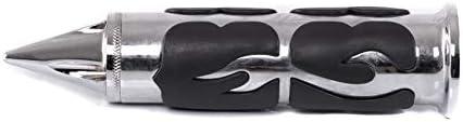 Lenker-Griffe 1 Zoll Craftride CG8 CNC Alu f/ür Yamaha XVS 1300//950 A Midnight Star Chrom