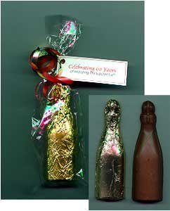 Chocolate Champagne Bottle - 9