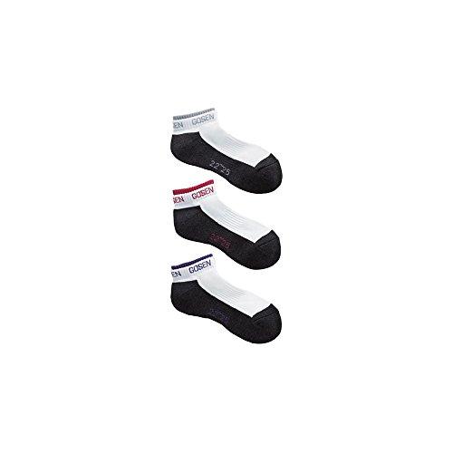 音防ぐ成り立つゴーセン ソックス3足組 メンズ レディース 靴下 ソフトテニス バドミントン GOSEN