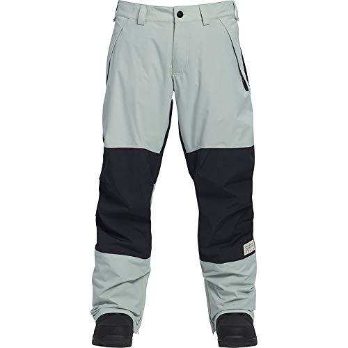 Analog Cinderblade Snowboard Pants - Aqua Green/True Black - -