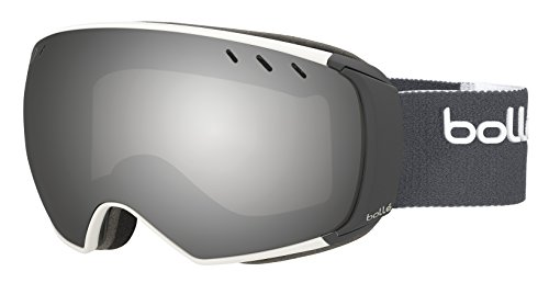 BOLLE Men`s Virtuose Goggle, 21623MTWHTGR/BLKCH by Bolle