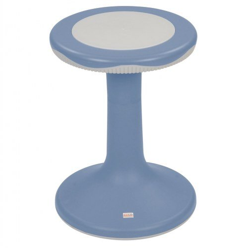 Kaplan Early Learning Company 18'' K'Motion Stool - Gray-Blue by Kaplan Early Learning Company