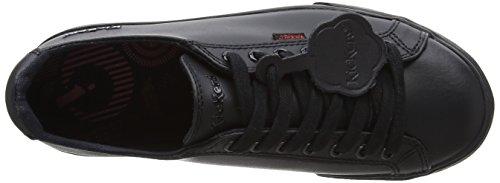 KickersTovni Lacer - zapatilla baja Unisex, para niños Negro (Black)