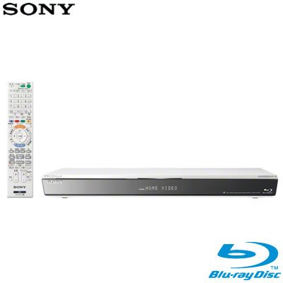 SONY ブルーレイディスクレコーダー/DVDレコーダー 500GB ホワイト BDZ-E500/W   B009D7YM5U