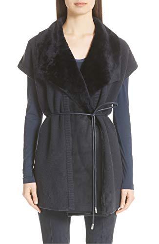 セクタ反響する引き出し(ラファイエット148ニューヨーク) LAFAYETTE 148 NEW YORK Shearling Trim Wool & Cashmere Vest Shearling Trim Wool&Cashmere Vest (並行輸入品)