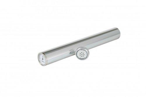 Adorini Humidor Tube Incl. Hygrometer Silver