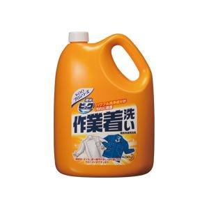 (まとめ) 液体ビック作業着洗い 業務用 4.5kg 4個 B077JR53CB