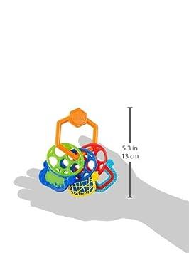 27.9 x 15.7 x 9.1 Oball- Rain Stick Juguete Color carb/ón KidsII 81030