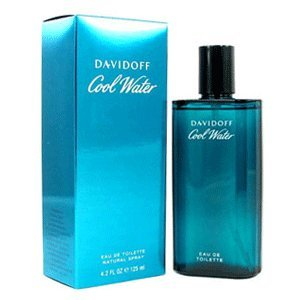 Cool Water for Men Gift Set - 4.2 oz EDT Spray + 2.5 oz Aftershave Splash Davidoff