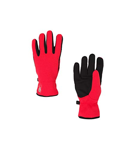 (Spyder Women's Bandita Stryke Glove, Hibiscus/Black/Black, Small)