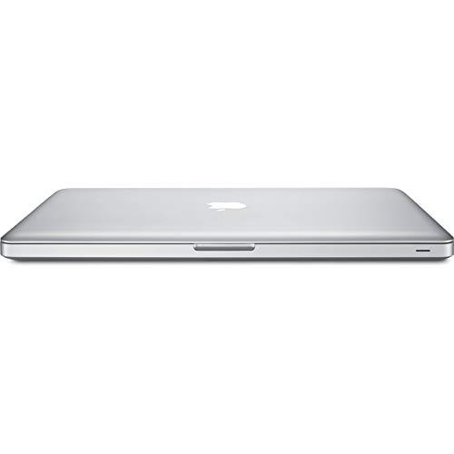 Apple MacBook Pro MC371LL/A 15.4in, 8GB RAM, 256GB SSD, 2.4GHz Intel Core i5, Silver (Renewed)