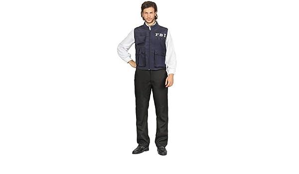 Generique - Disfraz policía FBI Hombre XL: Amazon.es ...