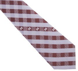 Mississippi State Tie Woven Poly Check