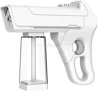Blanco FLYM Rociador Atomizador ULV El/éctrico Inal/ámbrico De 200 Ml Bater/ía De Litio Incorporada De 4800 Mah Pistola Rociadora De Vapor Nano Azul Port/átil De Mano