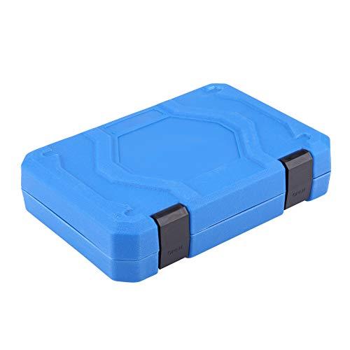 19pcs Hex Bit Socket, Universal 6 12 Point E-Torx Spline Bit Set 1/2 inch Drive Gear Torx Bit Socket with Special Shaped and Metric Inch Sizes Repair Tool by Zerone (Image #8)