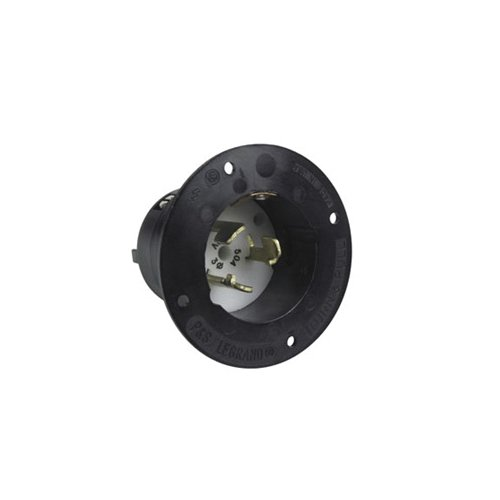 Hubbell CS8375 Locking Inlet, 50 amp, 3 Phase 250V, 3 Pole 4 Wire by Hubbell