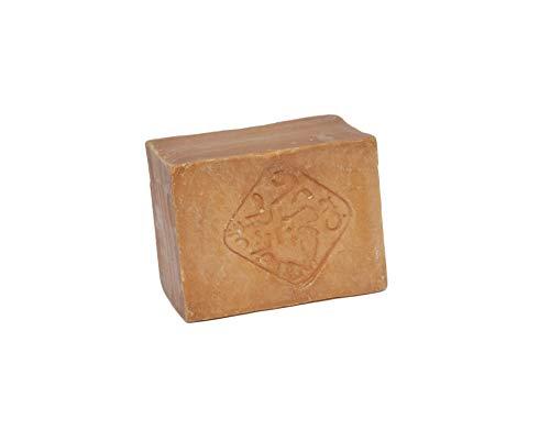 Aleppo Soap 200 Grams Authentic Organic Traditional 100% Natural Aleppo Bar Soap Shampoo Acne Treatment Body Soap Olive & Laurel Oil Bar Soap (Pack of 1) by La La Olive