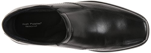 Hush Puppies Rain Maker Herren Schwarz Rund Slipper Schuhe Neu/Display EU 43