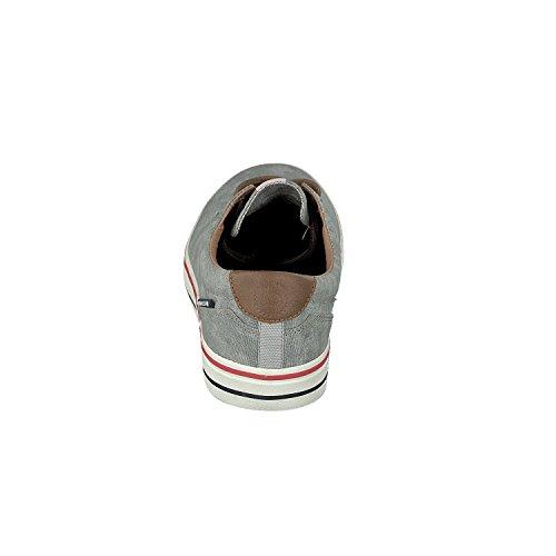 Bugatti 321-49401-6900 Herren Sneakers Grau(Hellgrau)