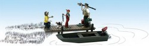 Woodland Scenics HO Scale Scenic Accents Figures/People Set