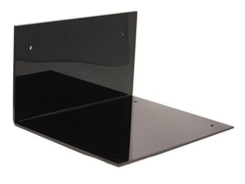 Nascar Shelf - Better Display Cases Black Acrylic Wall Mount for Motorcycle Motocross or Nascar Racing Helmet Display Case (A024-WM)
