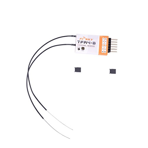 Masalong FrSky Futaba FASST compatible TFR4-B 4 channel receiver w/End PINS/PPM/RSSI