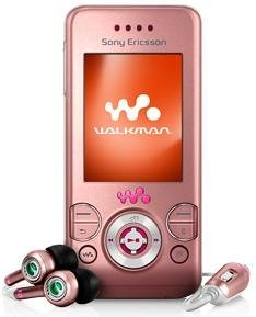 Sony Ericsson Quad Band W580i Walkman Pink Unlocked.