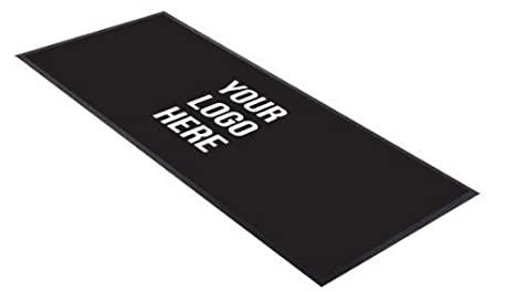 Customised Any Logo Text Black Design Bar Runner Great For Home Bar Shop Cocktail Party Advertising Tool Bar Mat