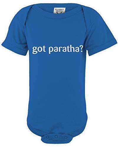 shirtloco Baby Got Paratha Infant Bodysuit, Royal 6 Months