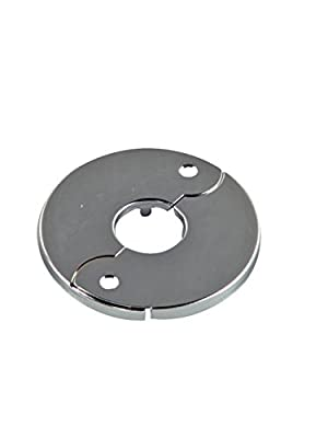 "Danco 81210 3/4"" Floor & Ceiling Plate for Ice Maker, Chrome"