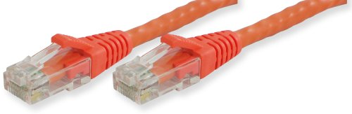 - Lynn Electronics OLG20CORO-035 Optilink CAT6 Made in the USA Snagless Ethernet Cable, 35-Feet, Orange