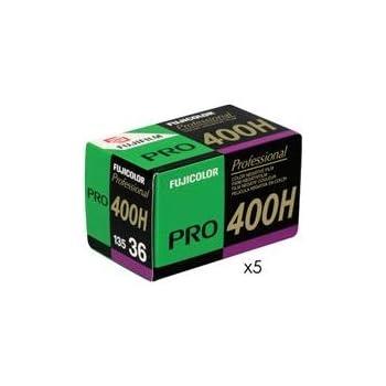 Fujifilm Fujicolor Pro 400H Color Negative Film ISO 400, 35mm, 5 Rolls of 36 Exposures
