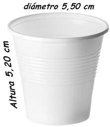 Sumicel Vaso pl/ástico de Polipropileno en Color Blanco Caja de 4800 Unidades 80 ml