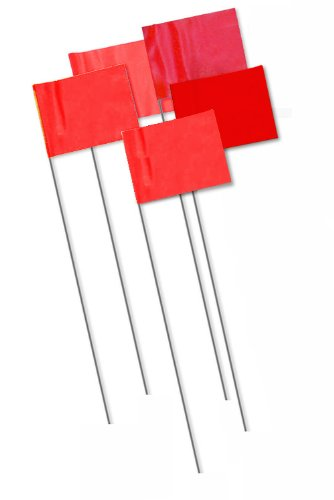 - Bon 84-847 Marking Flags, Red,1000-Pack