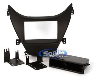 Metra 99-7346B Hyundai Elantra In-Dash Single/Double DIN Dash Install Kit