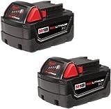Milwaukee - M18 REDLITHIUM High Capacity Battery - ( 2 Pk. )