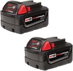 Milwaukee - M18 REDLITHIUM High Capacity Battery - ( 2 Pk. ) by By : Milwaukee