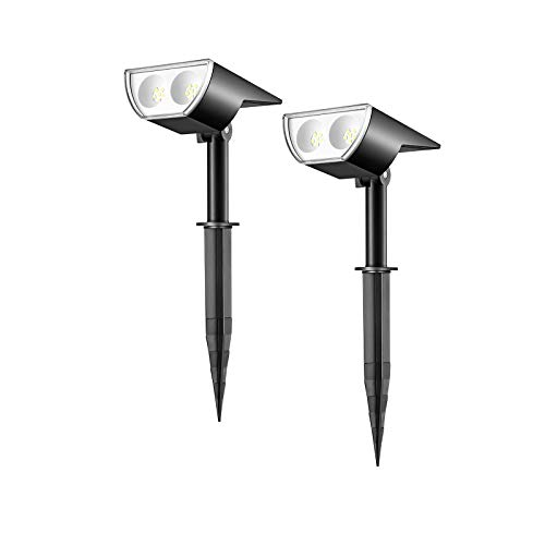 Linkind Dusk-to-Dawn Solar Landscape Spotlights - Small Size