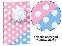 Amazon Com New Trendy Reversible Pink Or Blue Polka Dot Baby Girl