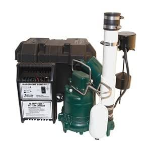 Zoeller 507 0008 Pre Assembled Sump Pump With Battery