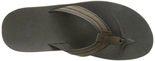 Teva Mens M Azure Flip Leather Sandal Bungee Cord